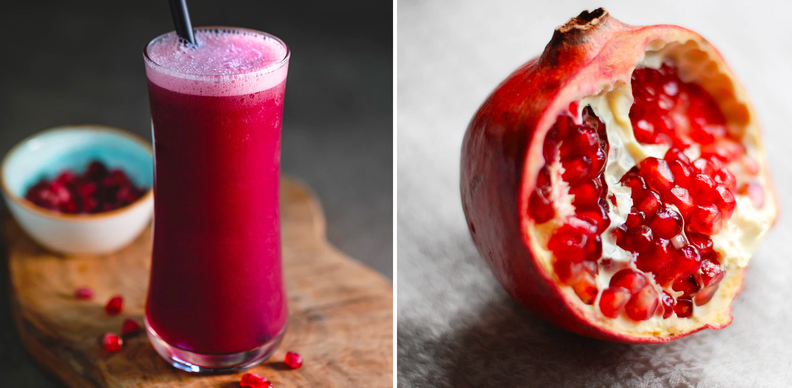 Pomegranate Gin Smoothie