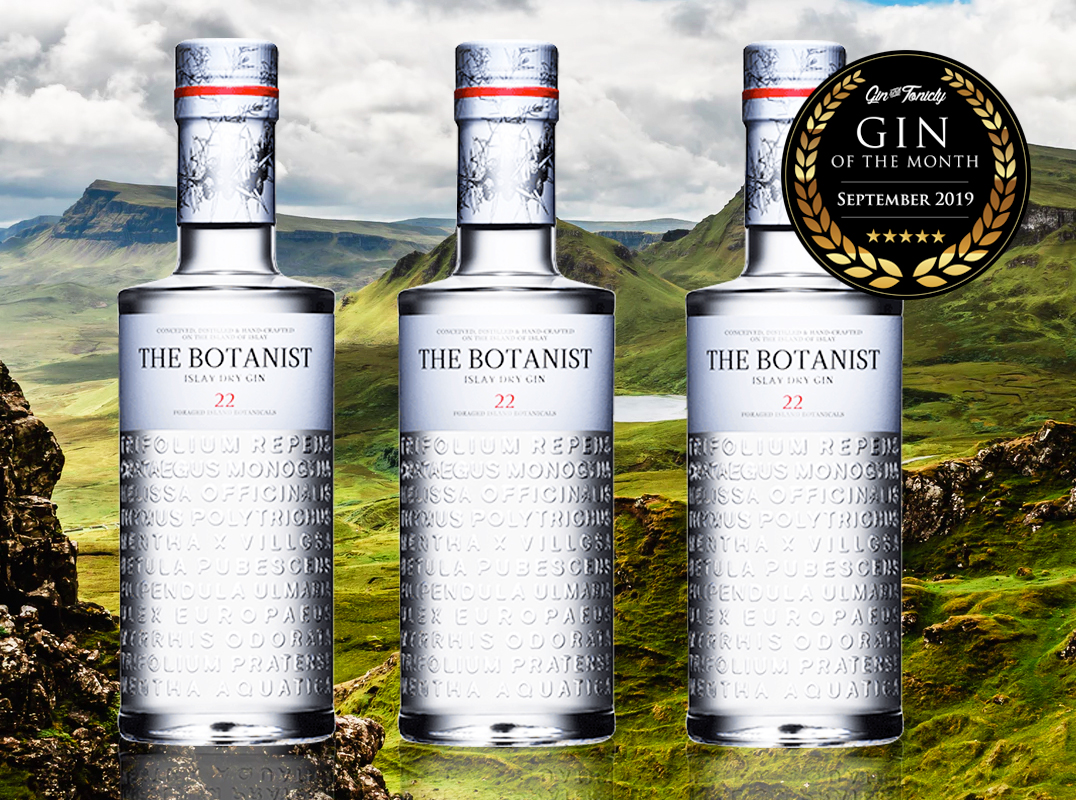 The Botanist - Gin Of The Month September 2019