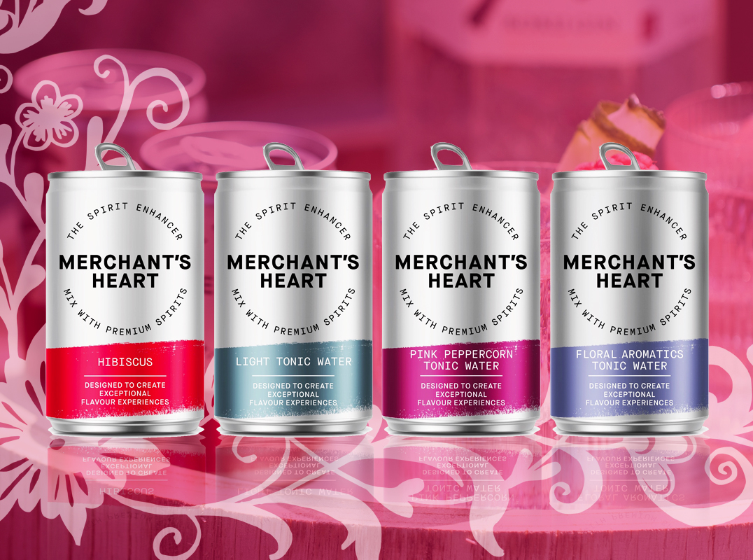 Merchants Heart Tonic Cans