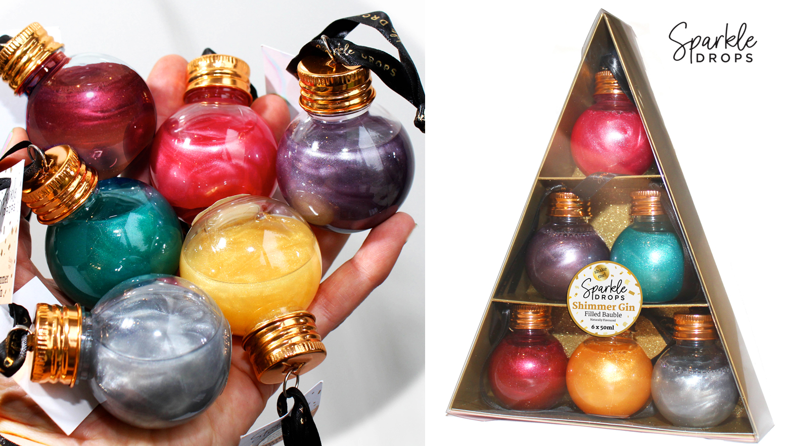 Sparkle Drops Baubles
