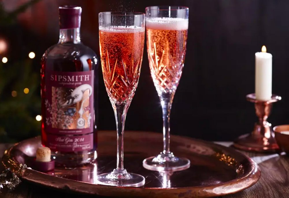 Prosecco and Sloe Gin Cocktail Recipes | Gin & Tonicly