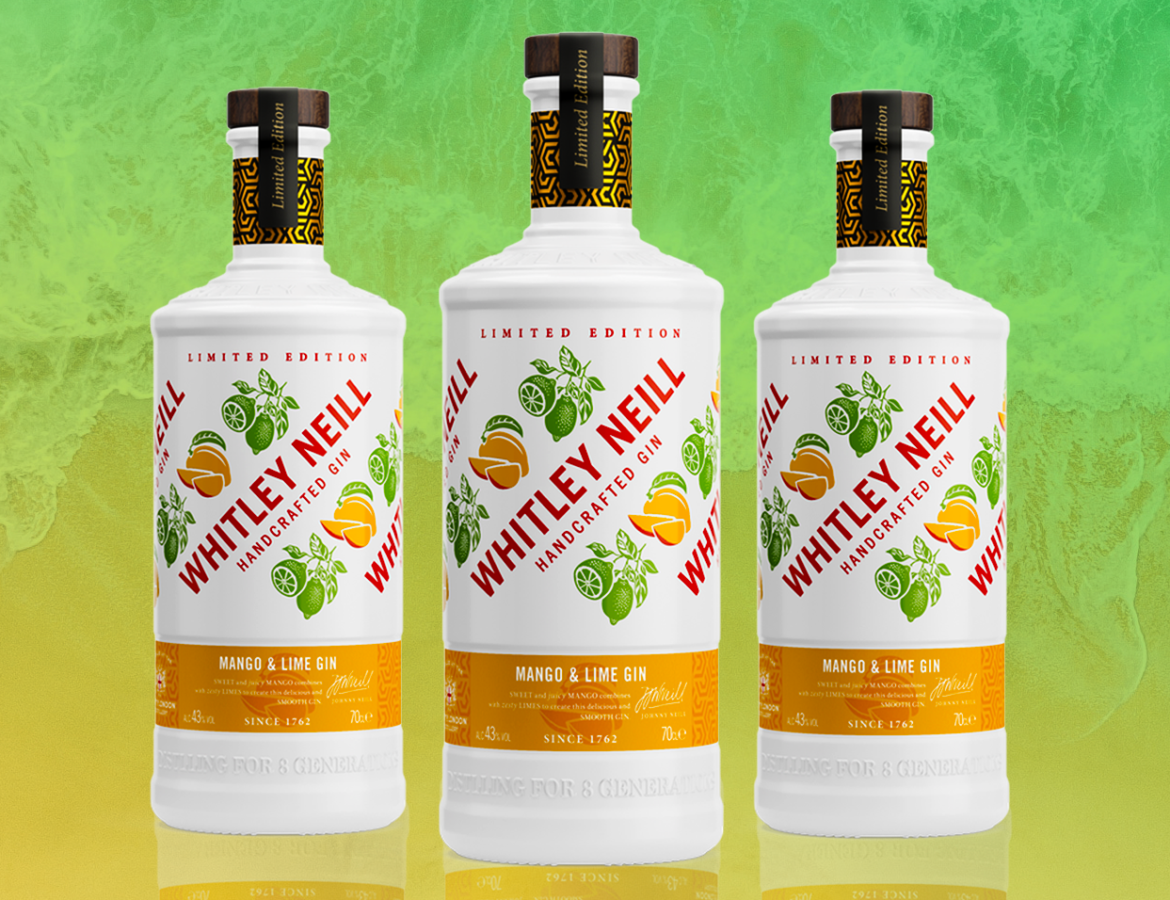 Whitley Neill Release a New Limited Edition Mango and Lime Gin