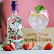 Introducing Sipsmith's Strawberry Smash Gin